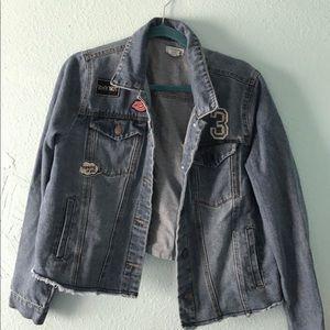 Wet seal jean jacket